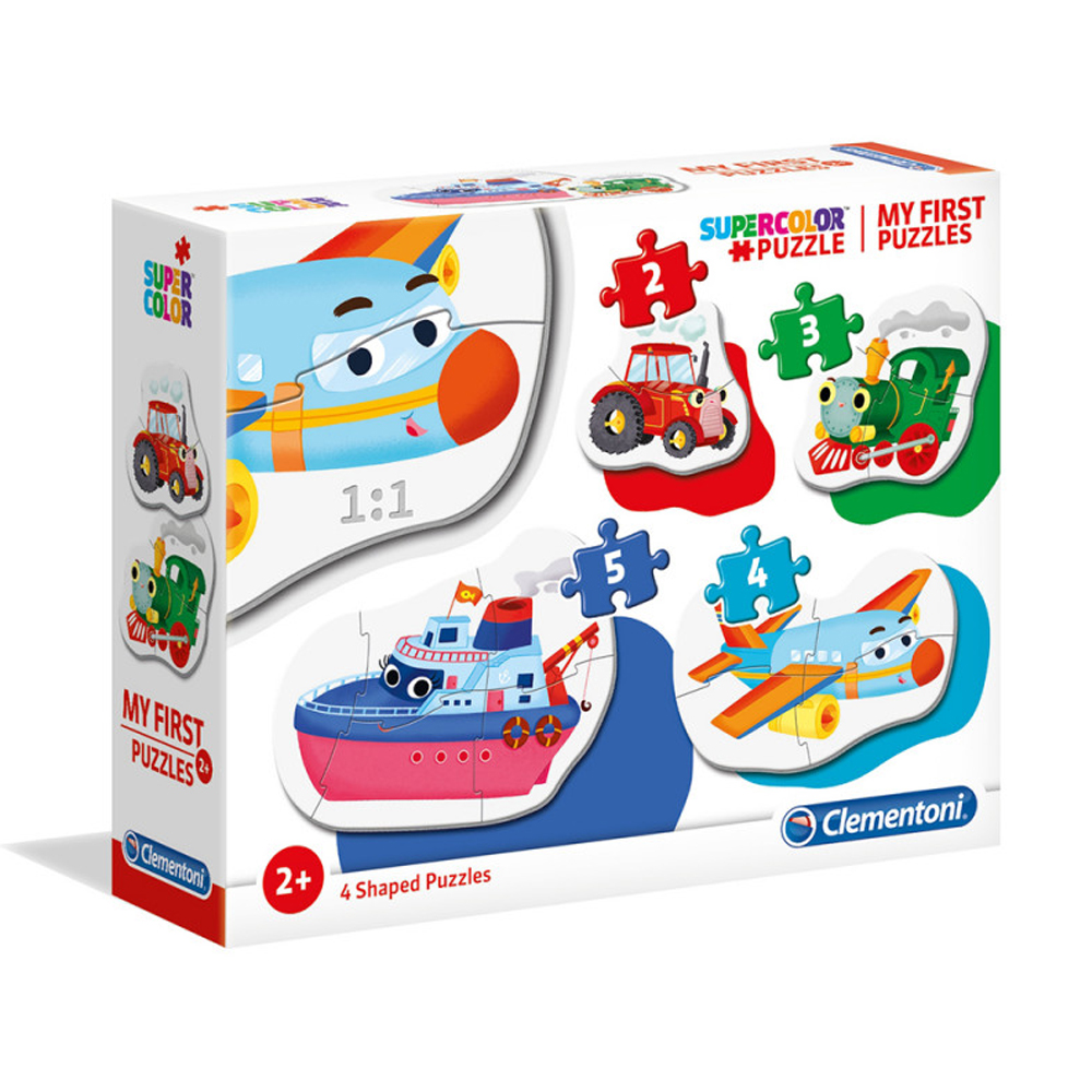 Cuy Games - INFANTIL - MI PRIMER PUZZLE - MEDIOS DE TRANSPORTE -