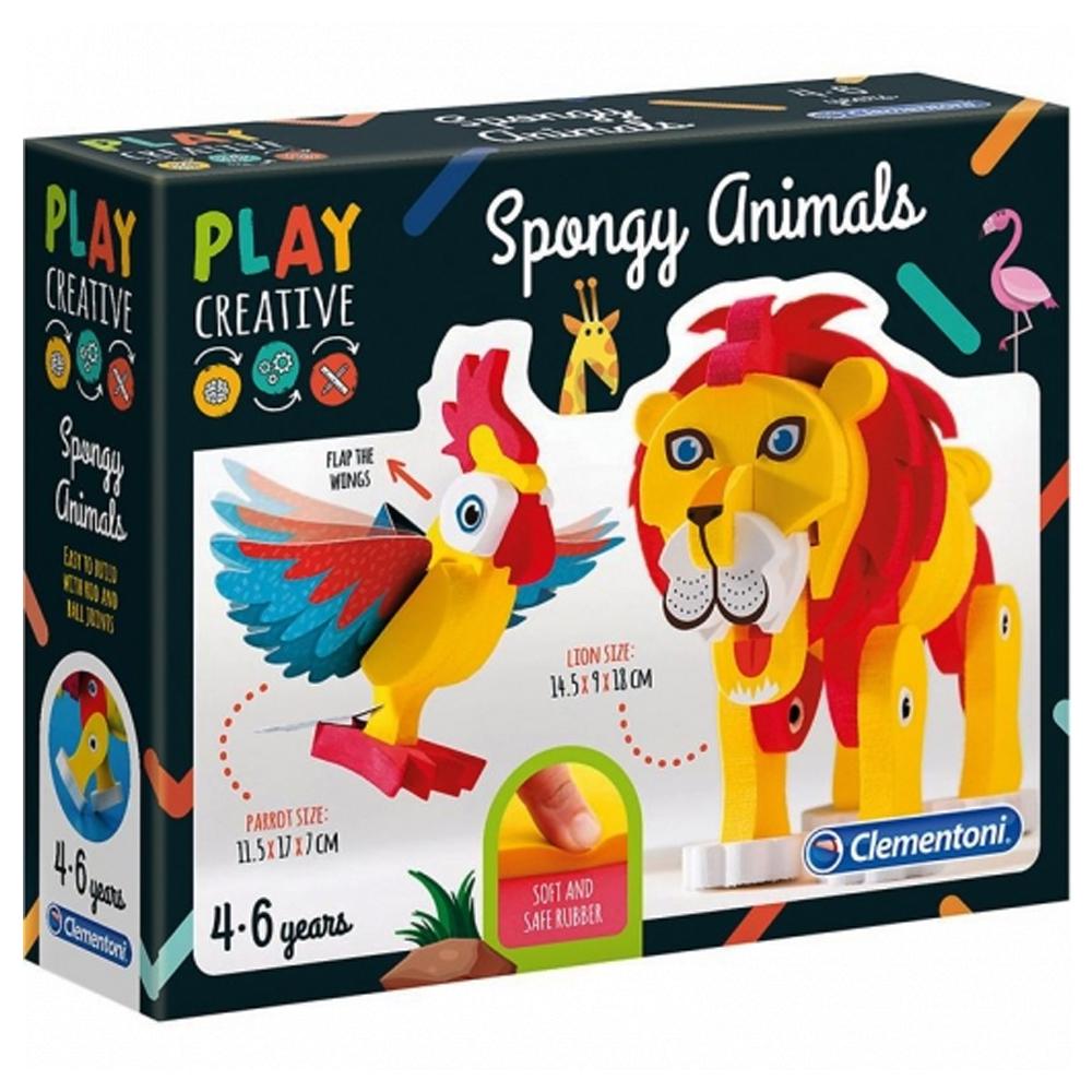 Cuy Games - INFANTIL - SPONGY ANIMALS -
