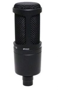 Audio Technica AT2020 Cardioid Vocal Mic under 200 dollars