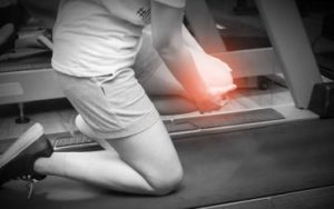 joint injuries using treadmill