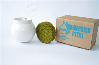 the bath ball replacement filters as seen in gaiam