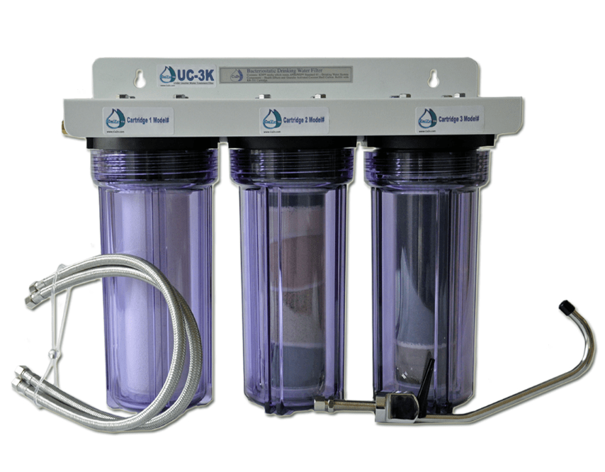 uc 3k under counter water filtration system