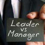 Manager sau Lider