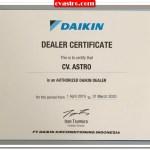 Dealer Resmi Daikin Makassar – Sulawesi Selatan