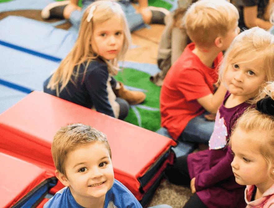 preschool students at CVC