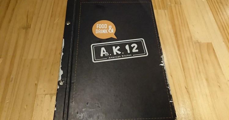 【食記】A.K.12 菜單menu-美式餐廳-[台北][西門區/萬華區]