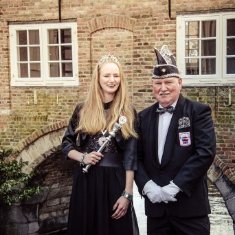 Prinses Cindy & Adjudant Theo