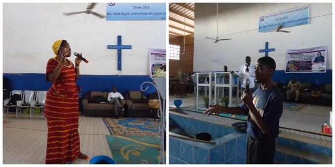 Testimonies in Niamey