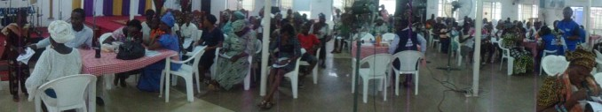 Cross-Section of the crowd on the last day