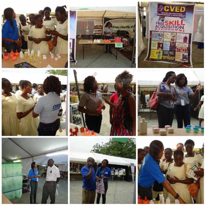 CVED Team in Accra, Ghana