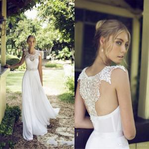 Spring wedding dress A-line 3