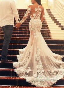 mermaid wedding dress 1