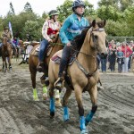Cups for Cancer barrel racing, at the 2017 CVEX