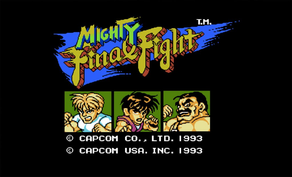 mighty final fight nes game