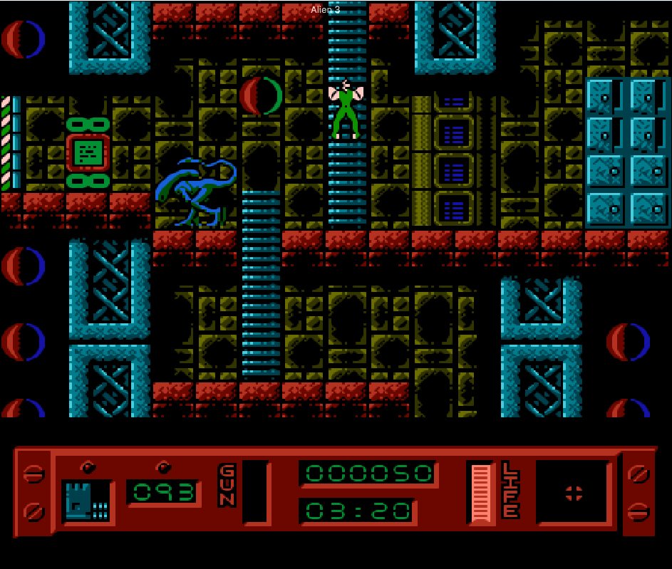 game nes phần 1 alien 3