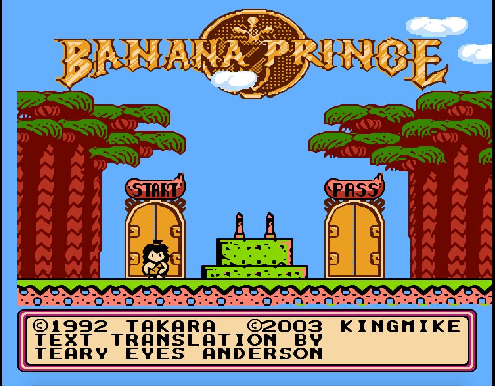 banana-prince-nes-game