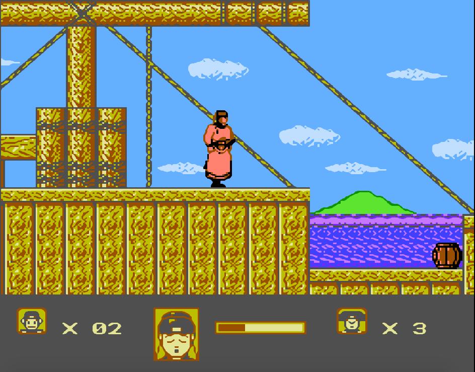 Game NES Bao Qing Tian