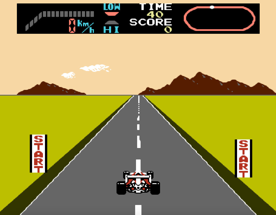 Game NES F-1 Race phần 6