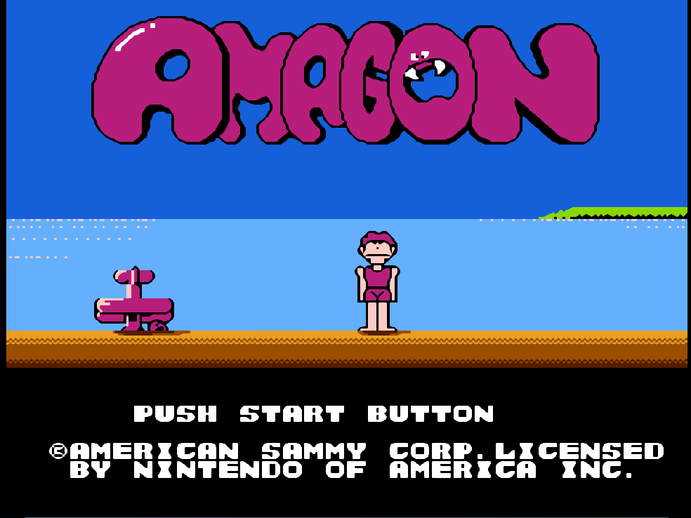 game NES amagon