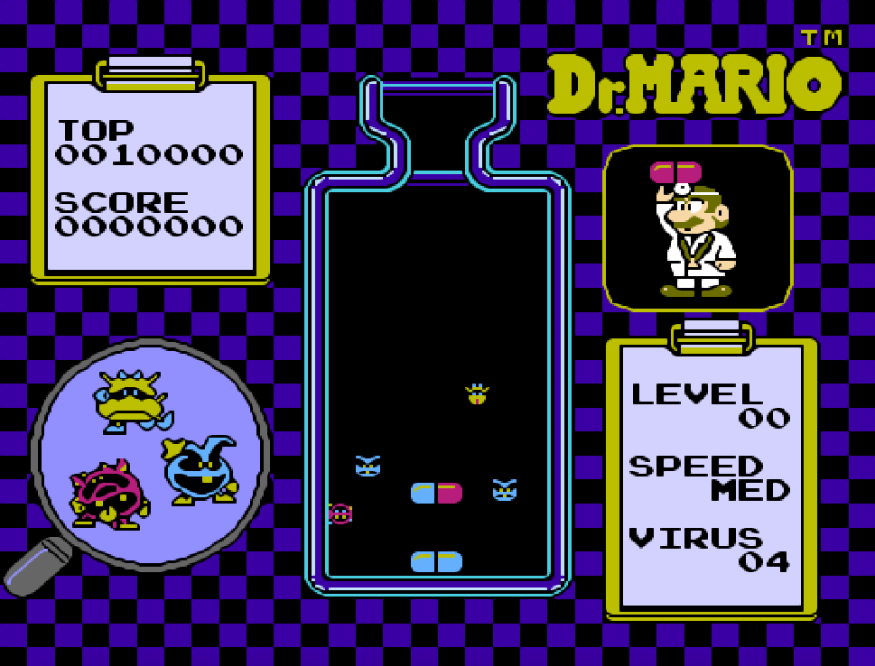 Game điện tử NES Dr. Mario