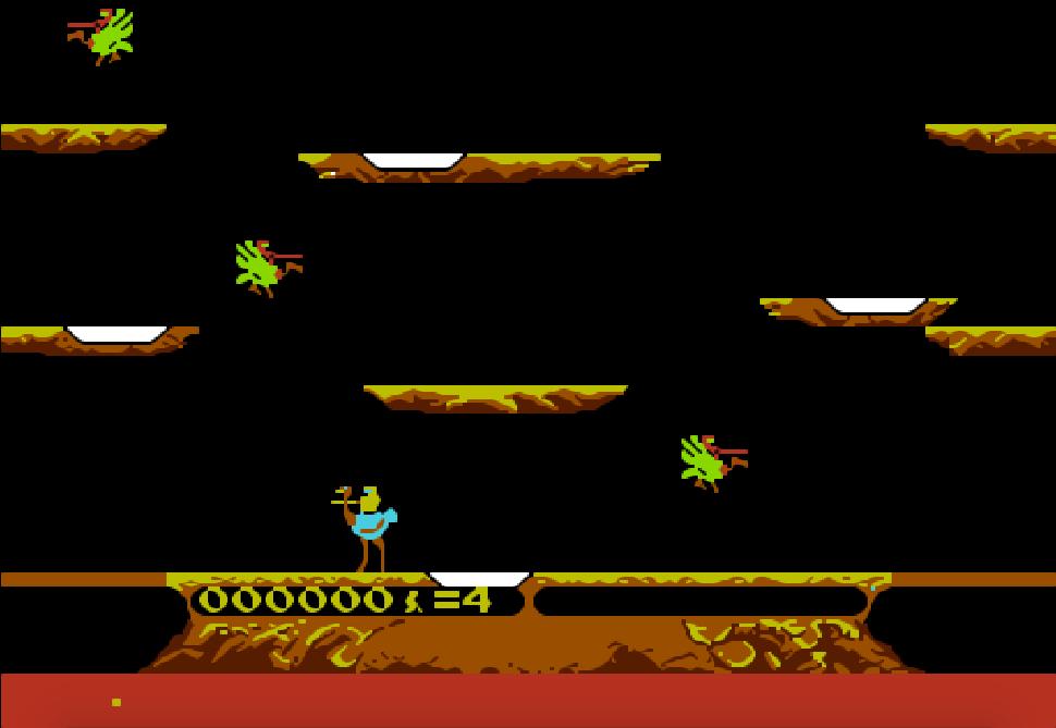 game NES phần 8 Joust