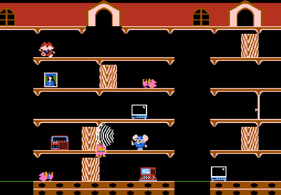 Mappy game NES phần 11
