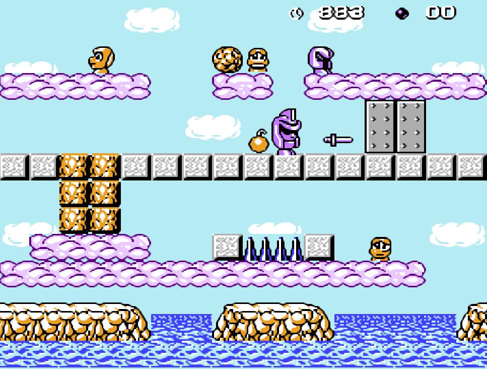 Game NES phần 12 Moai Kun