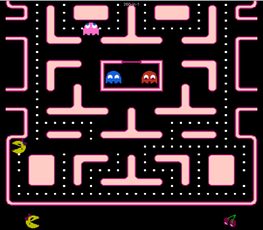 Ms. Pac-man nes game