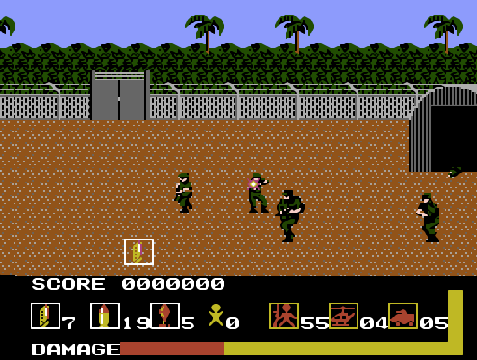 game NES phần 13 Operation Wolf
