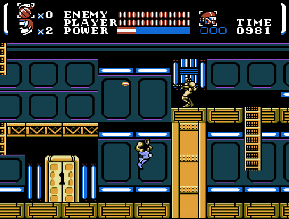 Game NES Power Blade
