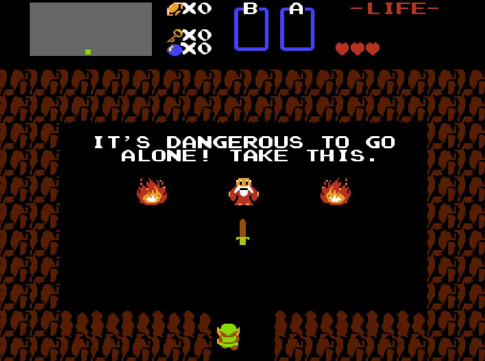 Game NES phần 10 The Legend of Zelda