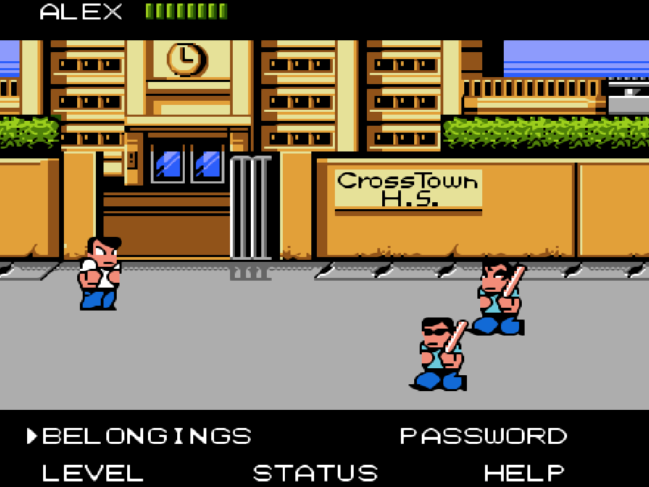 NES Game River City Ransom