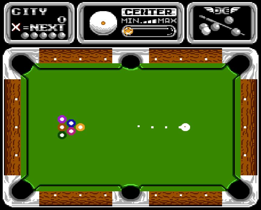 Game NES phần 16 Side Pocket