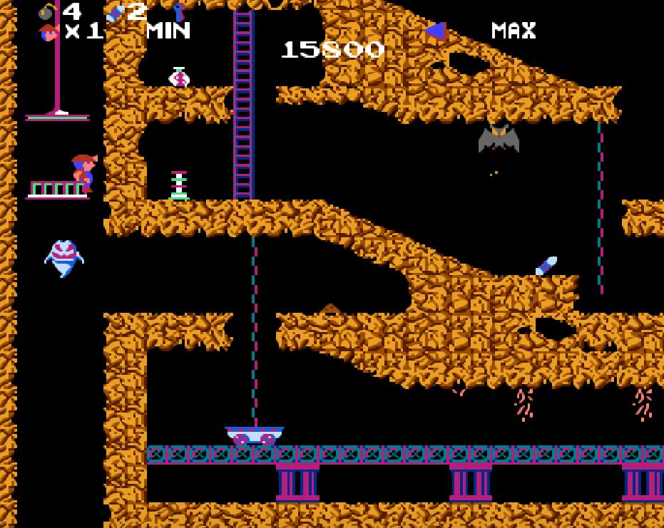 game NES phần 16 Spelunker