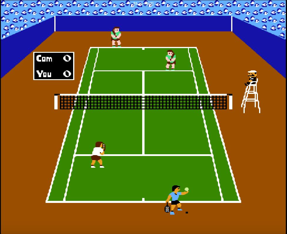 tổng hợp game NES phần 18 Tennis