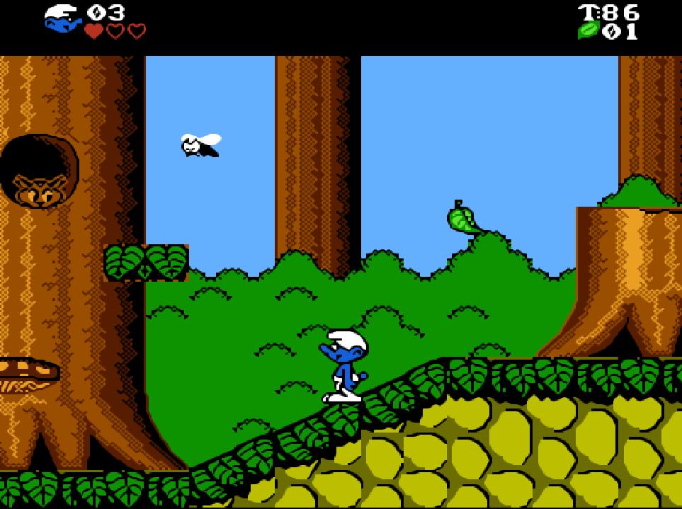 Game NES phần 16 The Smurfs