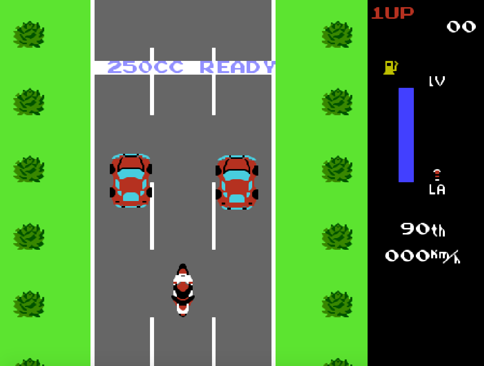 game NES phần 19 Zippy Race