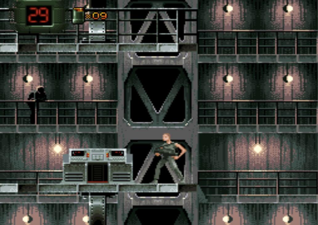 game SNES hay phần 2 Alien 3