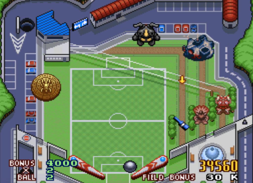 game SNES hay phần 3 Battle Pinball