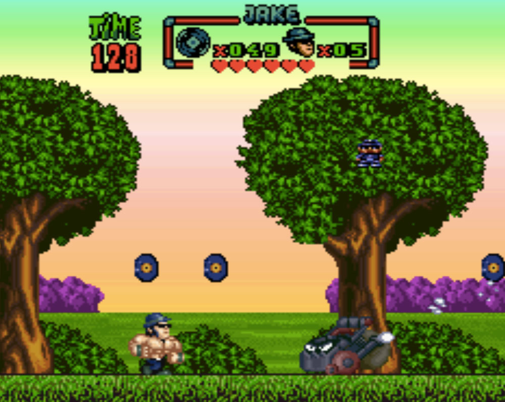 game SNES hay phần 4 Blues Brothers