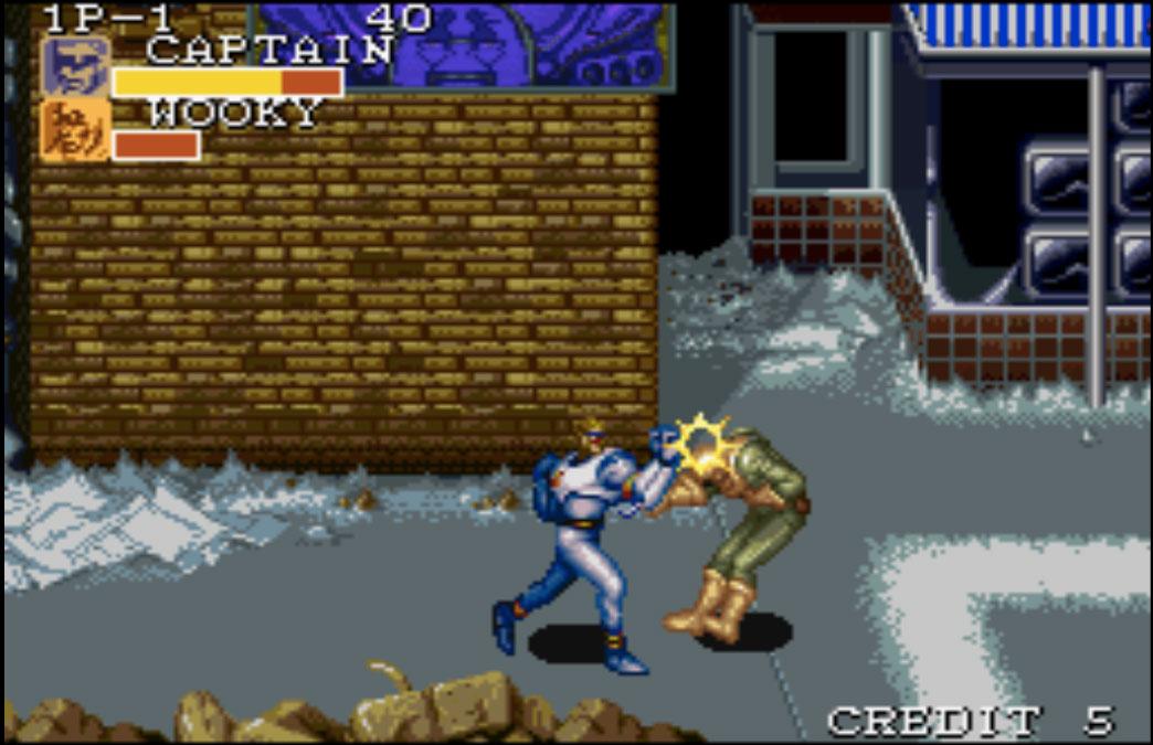 game SNES hay phần 5 Captain Commando