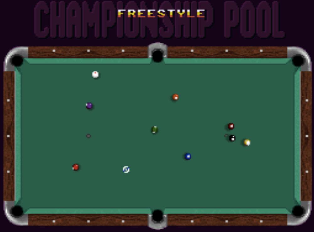 Game SNES hay phần 5 Championship Pool