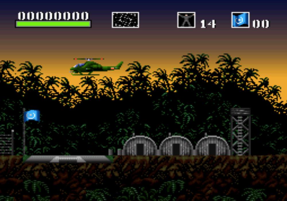 game SNES hay phần 5 Choplifter III