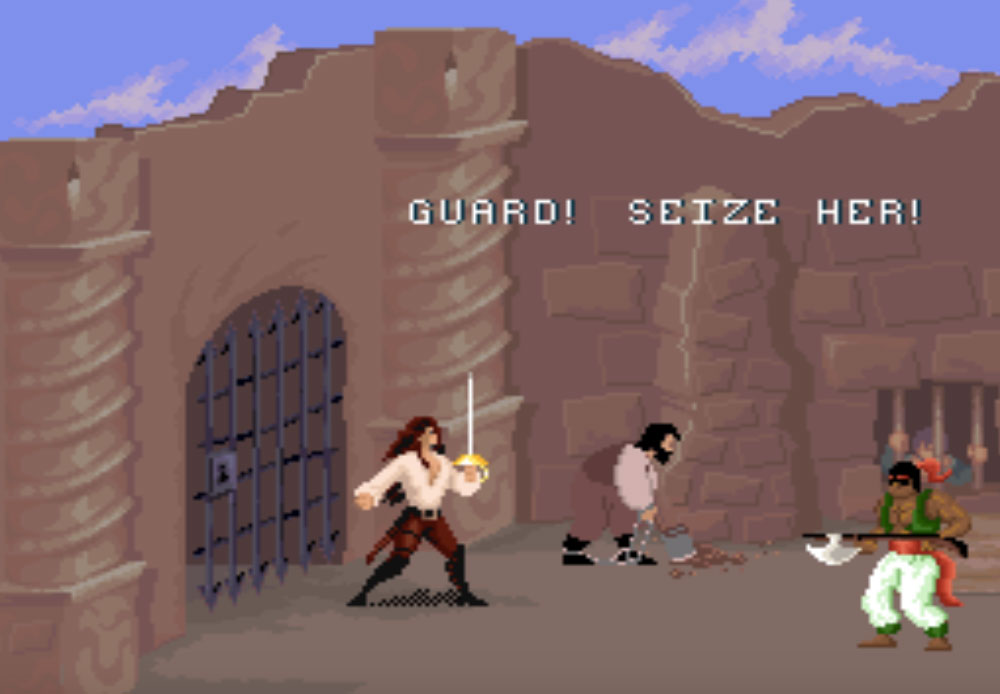 game snes hay phần 6 Cutthroat Island