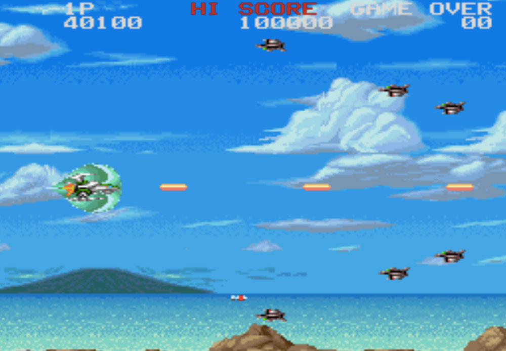 game SNES hay phần 7 Darius Twin