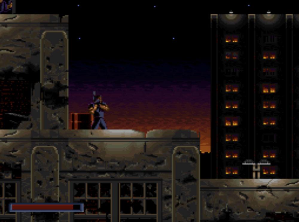 game snes hay phần 7 Demolition Man