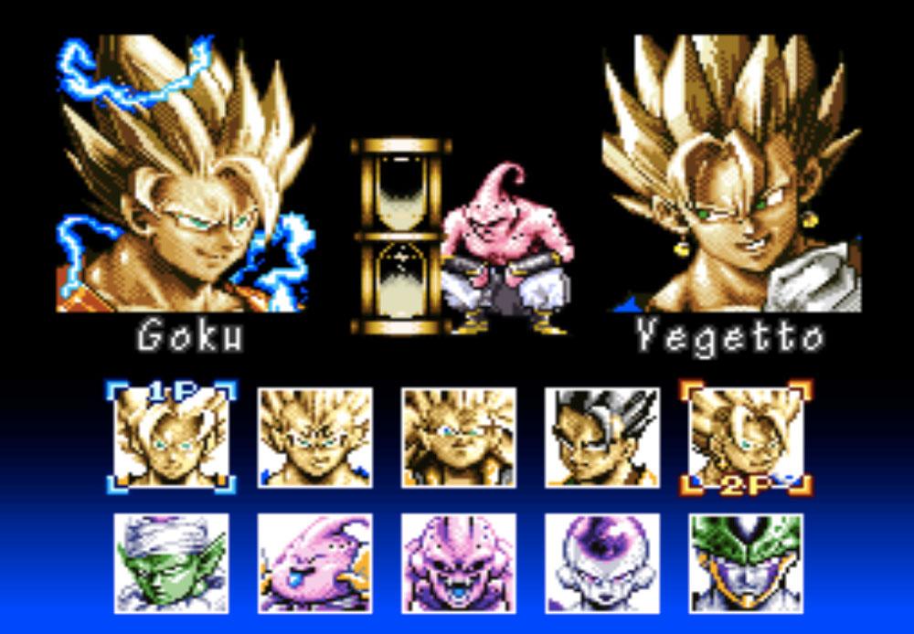 game SNES Dragon Ball Z - Hyper Dimension