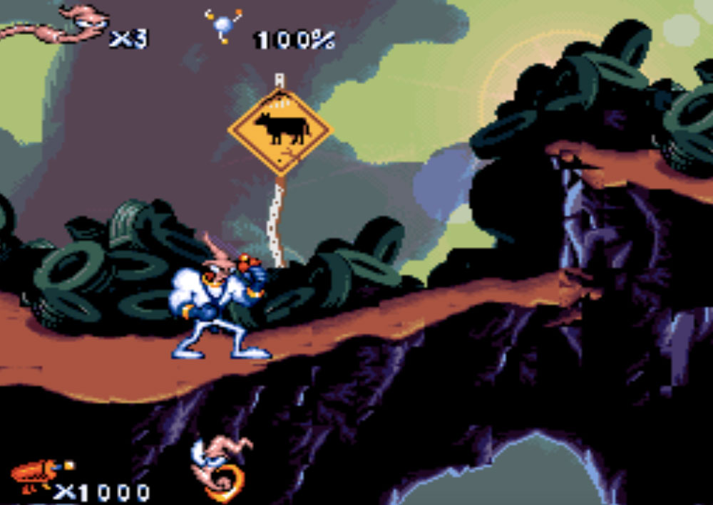 Earthworm Jim game snes hay phần 9