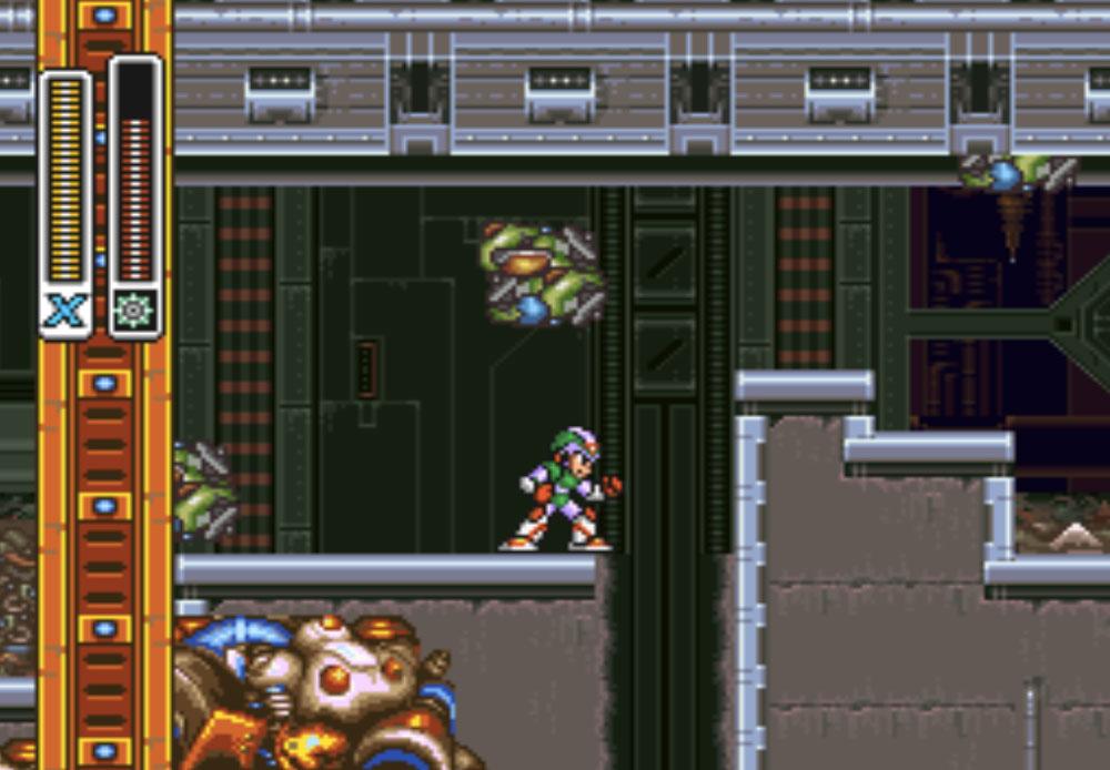 nâng cấp body Mega Man X2