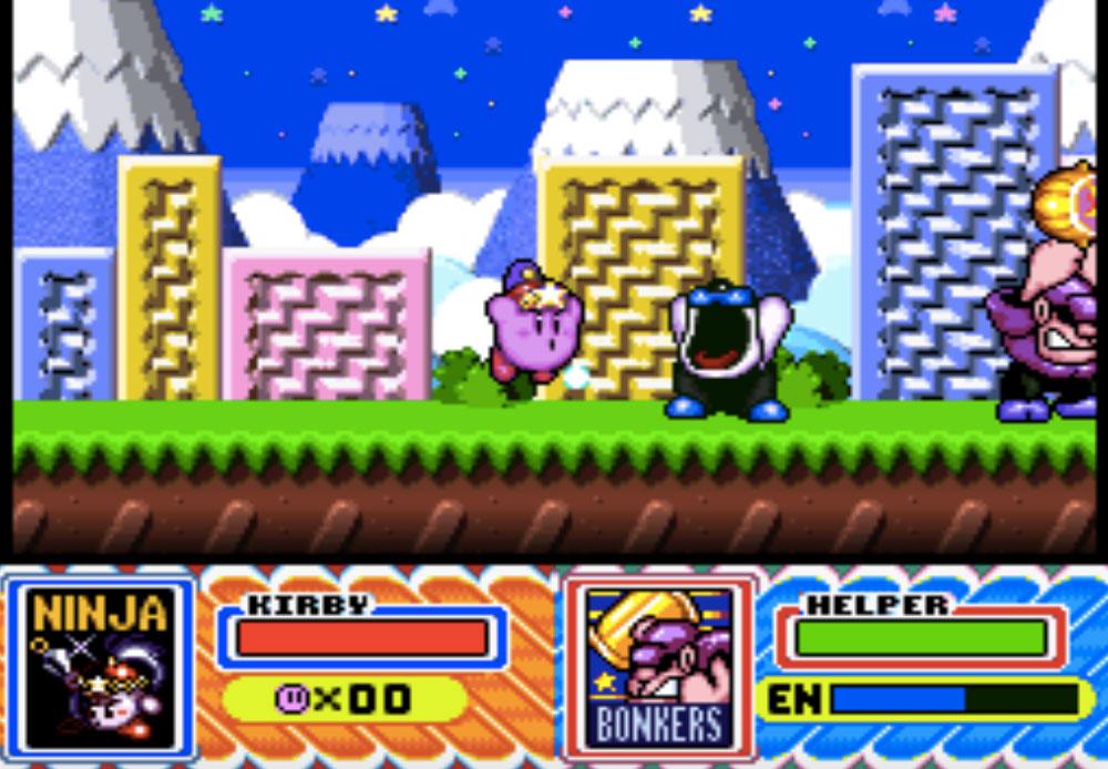 game snes hay phần 17 Kirby Super Star